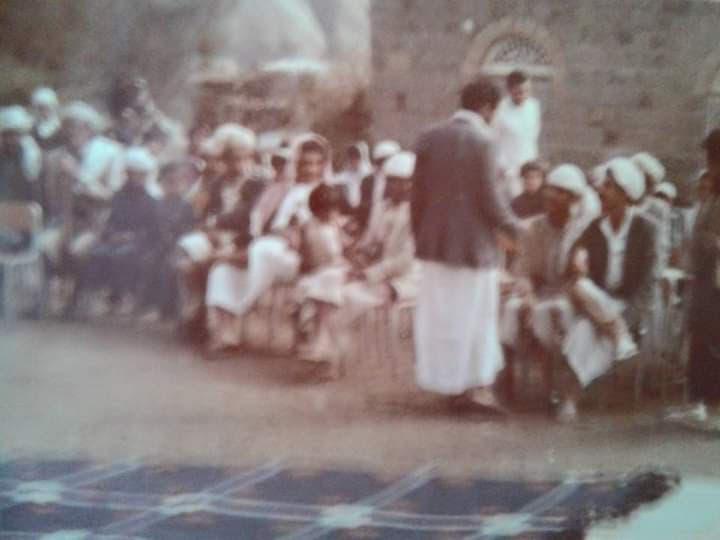 حفل قديم في اليمن