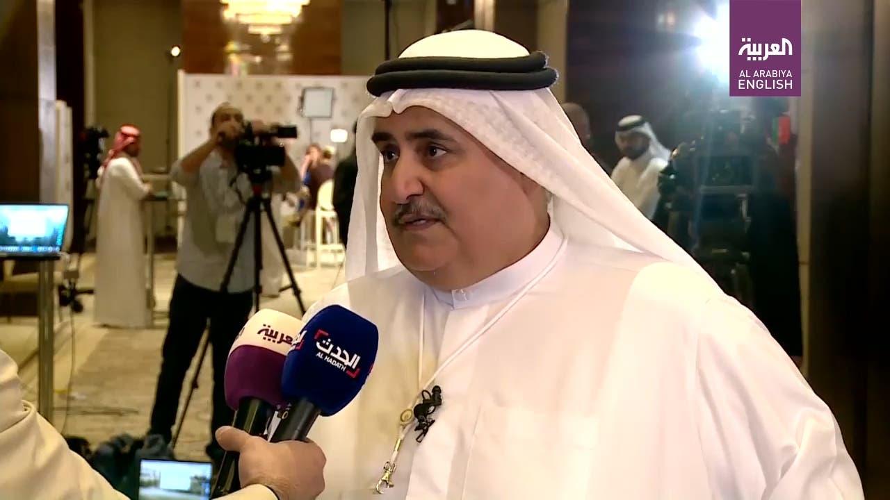 Bahrain FM Sheikh Khalid