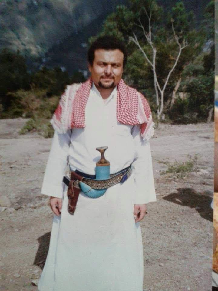 المعلم المصري بالزي اليمني