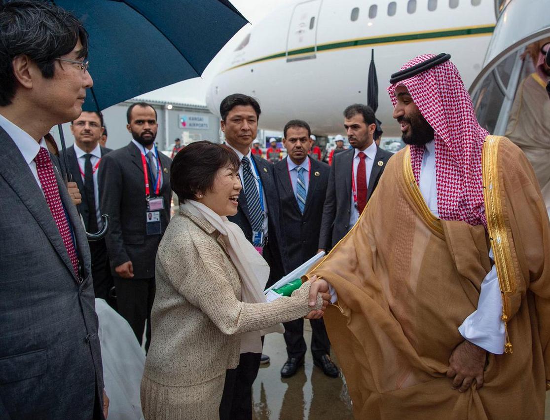 Mohammed bin Salman in Japan - SPA