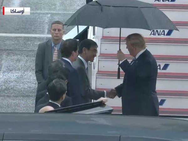ترمب يصل إلى أوساكا للمشاركة في أعمال قمة العشرين