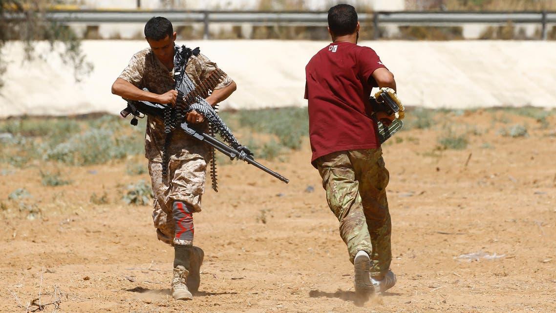 مقاتلان مواليان لحكومة الوفاق الليبية