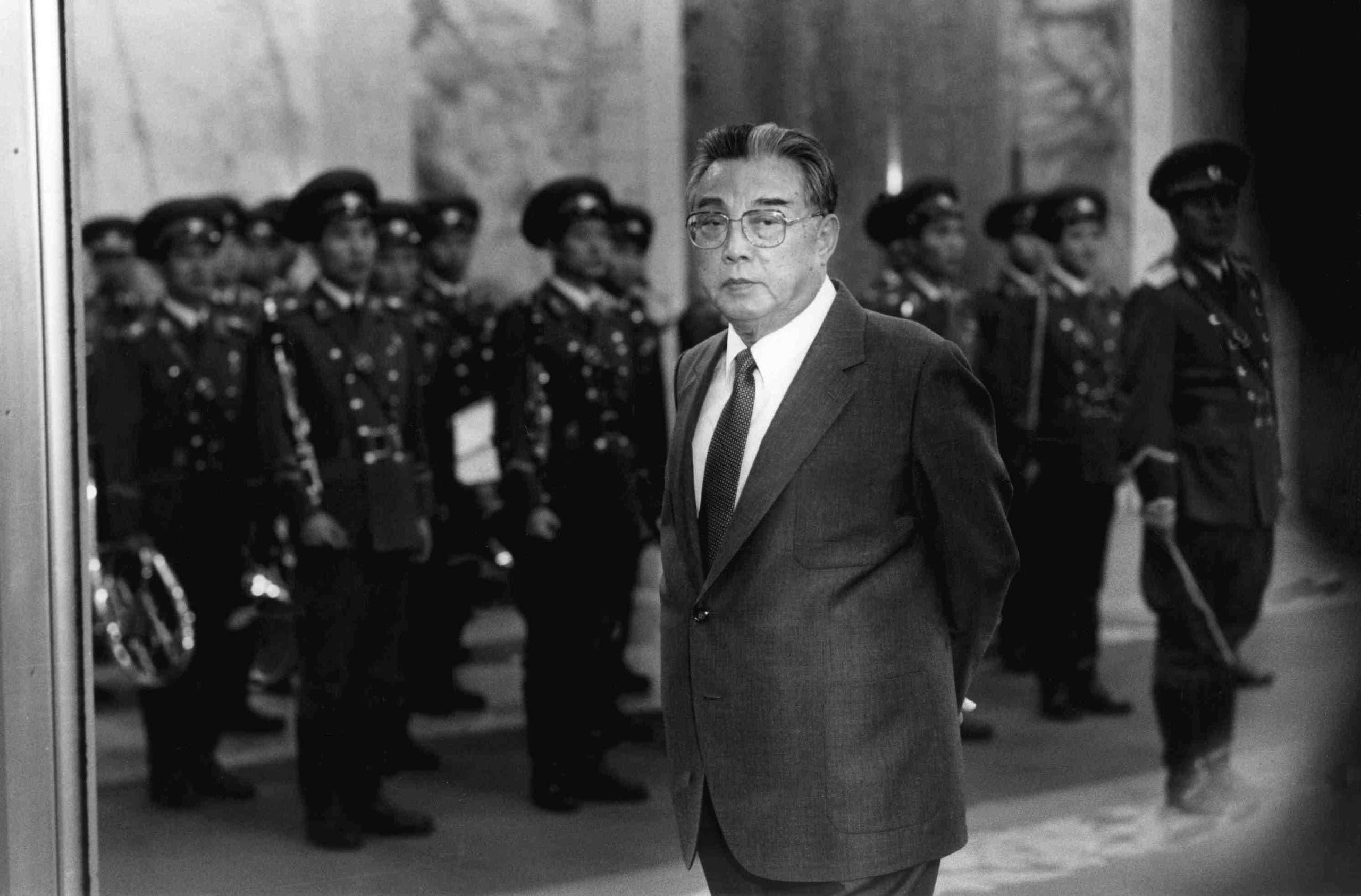 الزعيم الكوري كيم إل سونغ
