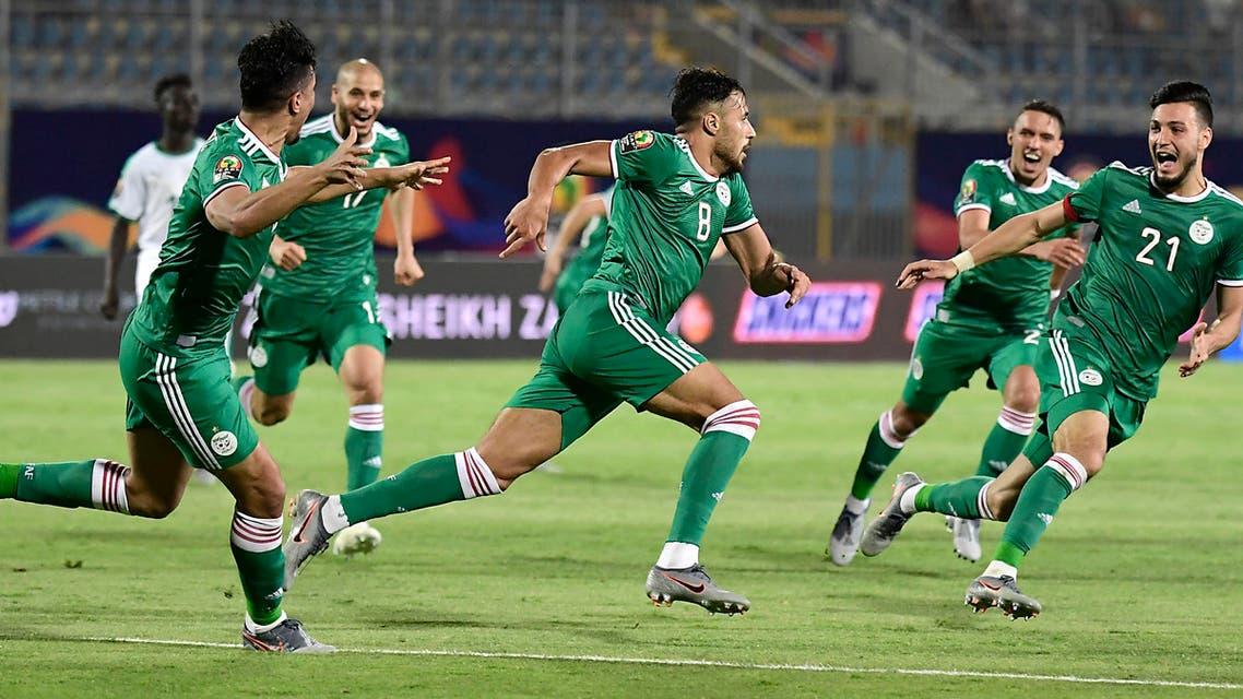 الجزائر السنغال
