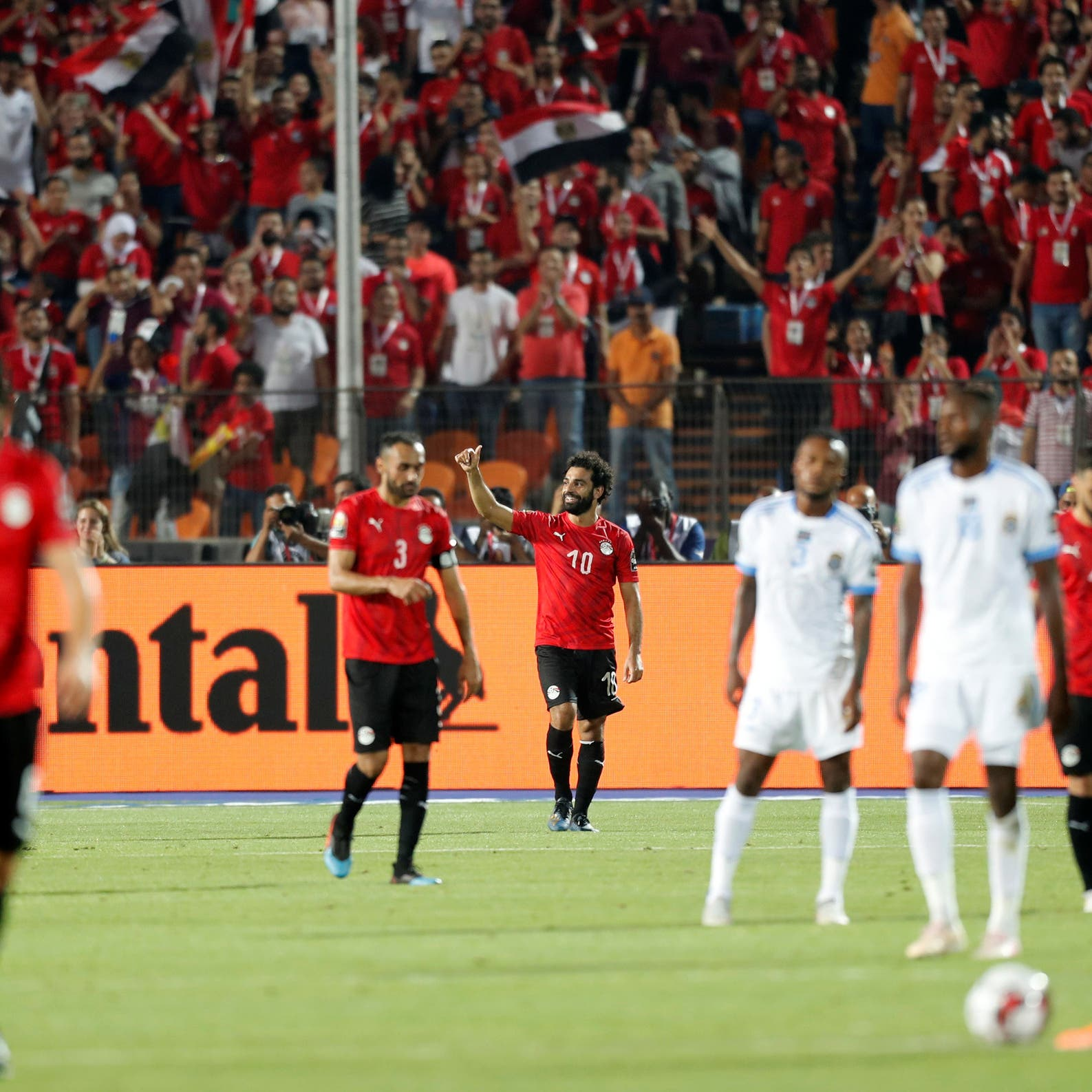 مصر تنفرد بصدارة المجموعة بعد فوزها على الكونغو