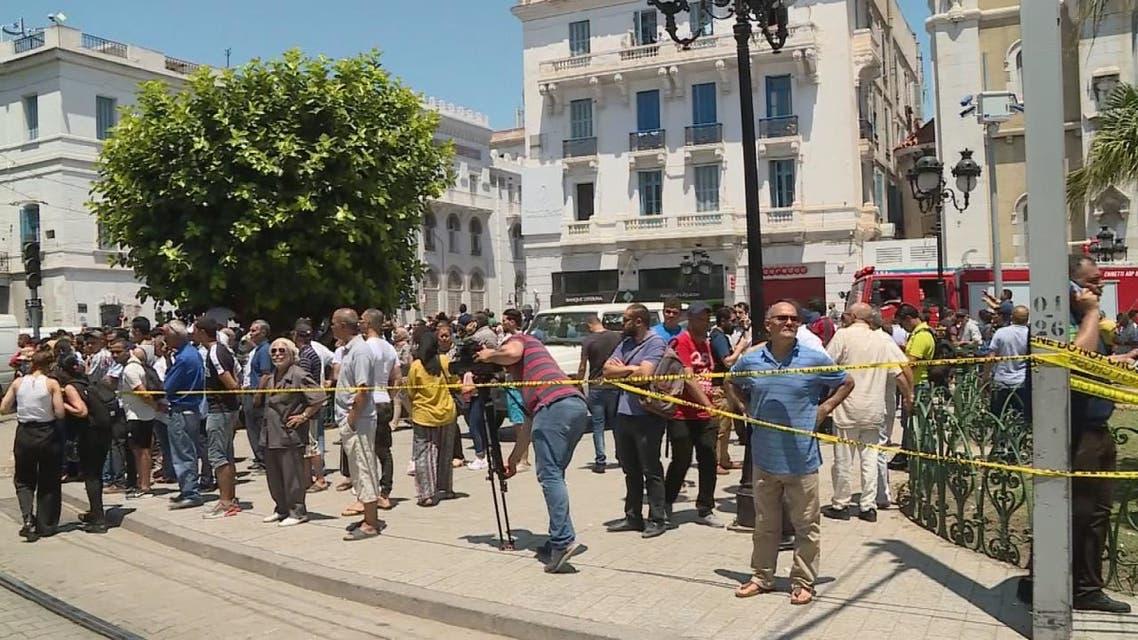 هجومان انتحاريان يستهدفان تونس