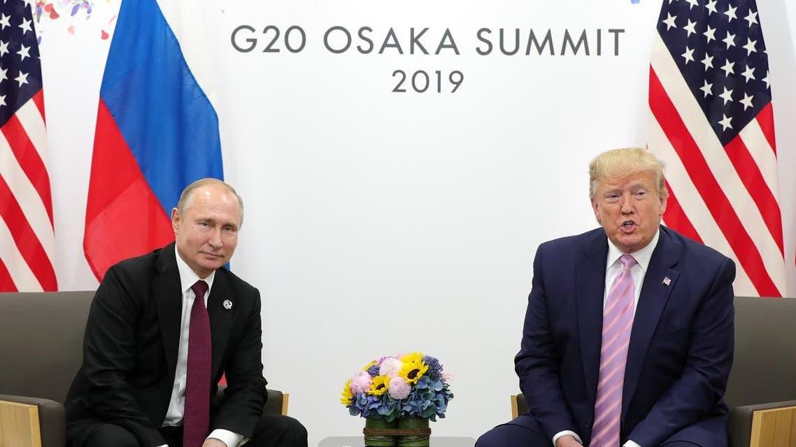 G20 OSAKA PUTIN TRUMP. (AFP)
