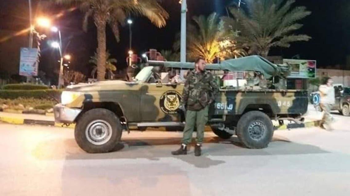 الجيش الليبي في غريان