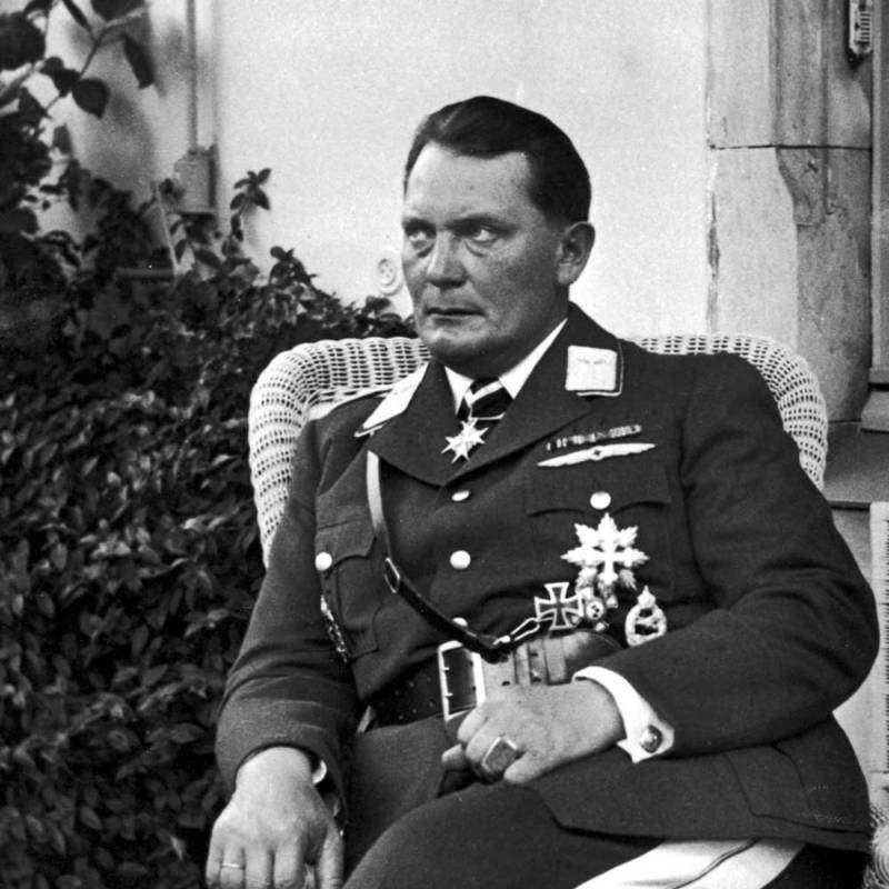 صورة للرجل الثاني بالنظام النازي هرمان غورينغ