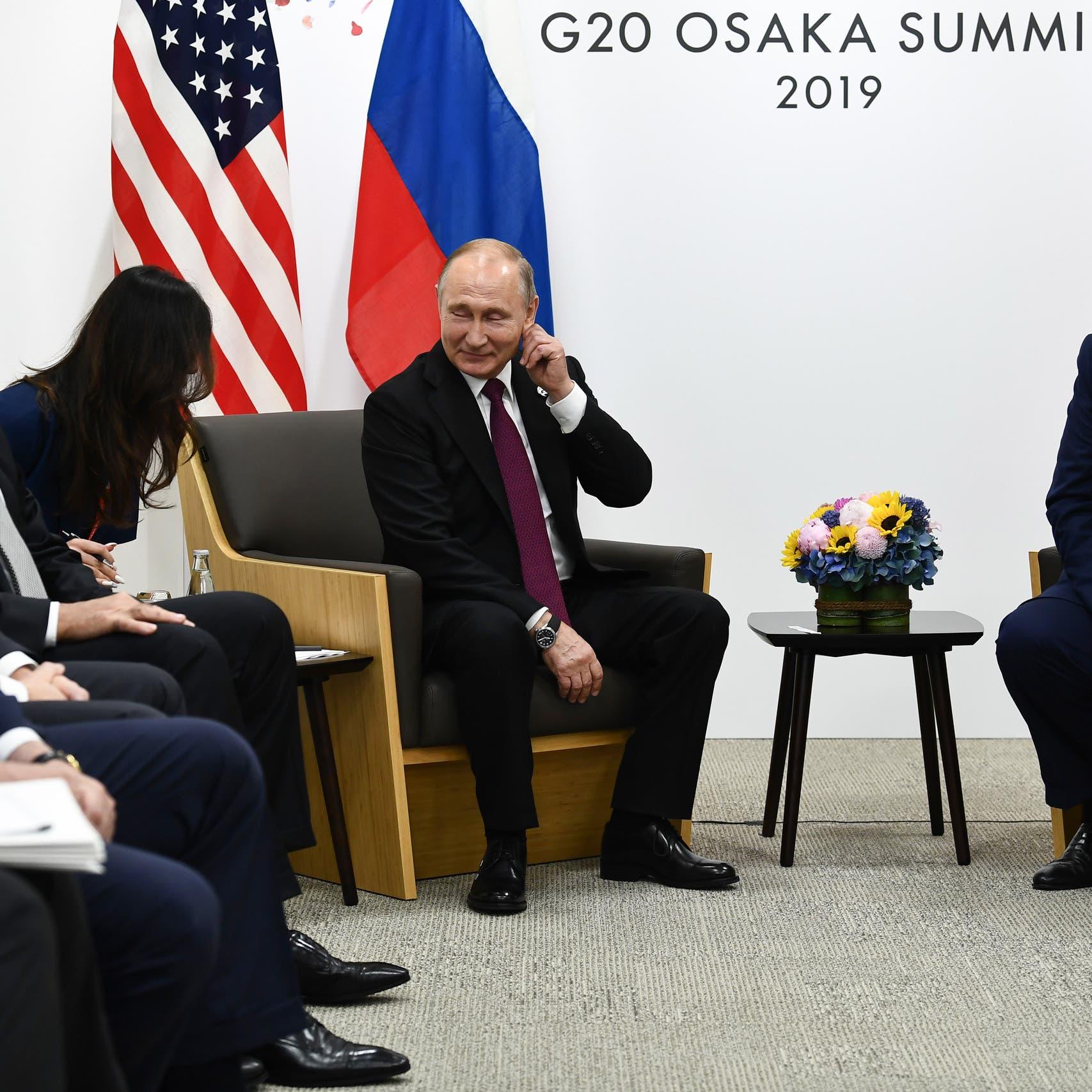 ترمب اقترح على بوتين تكثيف الحوار المتبادل