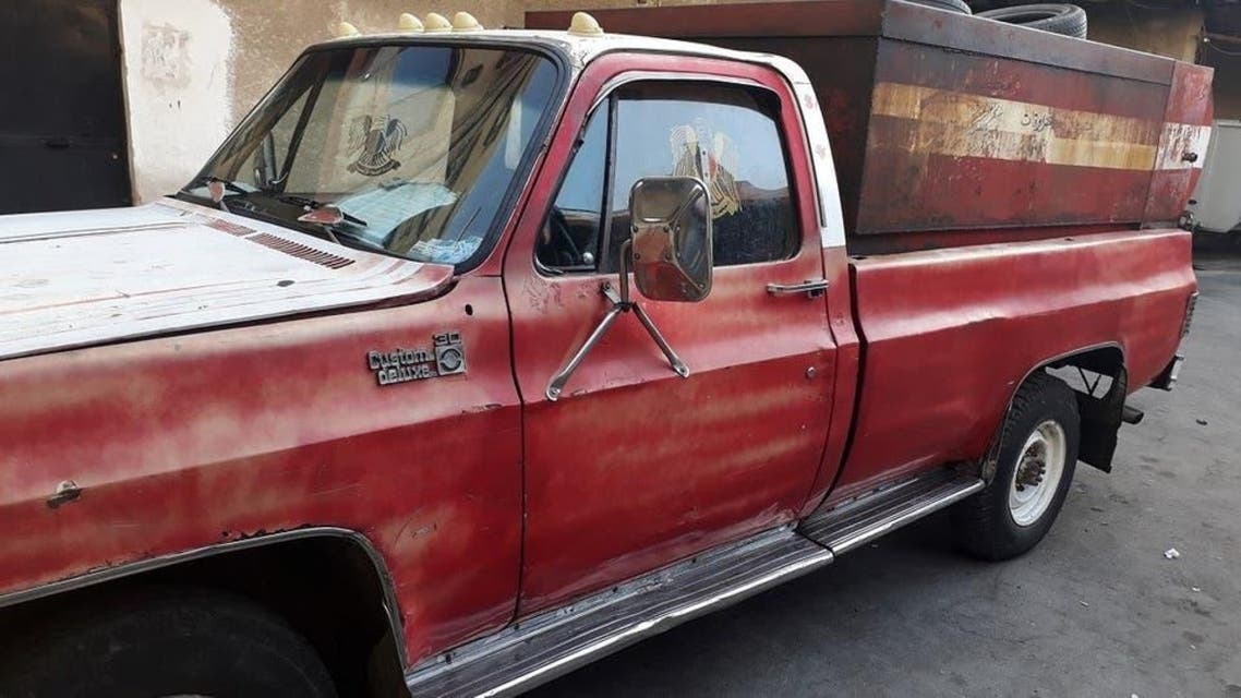 شام میں جعلی فووخت کرنے والے شخص کا ٹرک