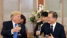 Trump and Moon discuss maintaining talks with North: Seoul