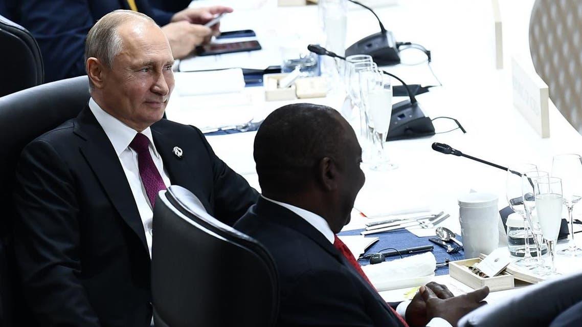 Putin G20 AFP