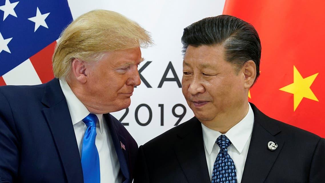 ترمب ونظيره الصيني في قمة العشرين