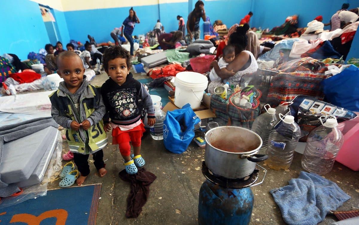 مهاجرون أفارقة في ليبيا (أرشيفية)