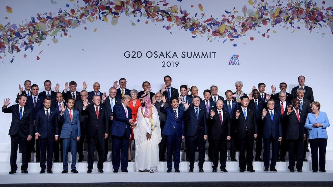G20 OSAKA. (AFP)