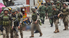 Philippine army says attack on base likely a suicide bombing
