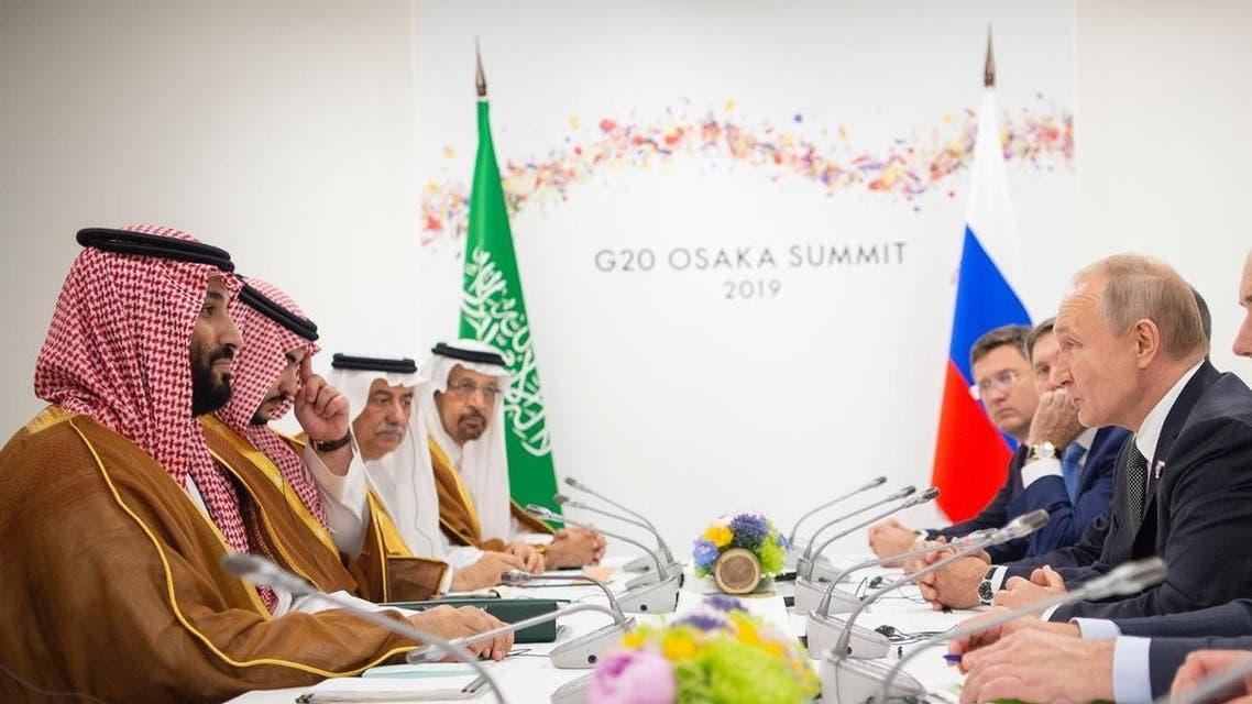 محمد بن سلمان يلتقي بوتين على هامش قمة العشرين