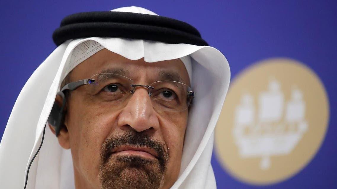 Saudi Energy Minister Khalid al-Falih attends the St. Petersburg International Economic Forum. (File photo: Reuters)