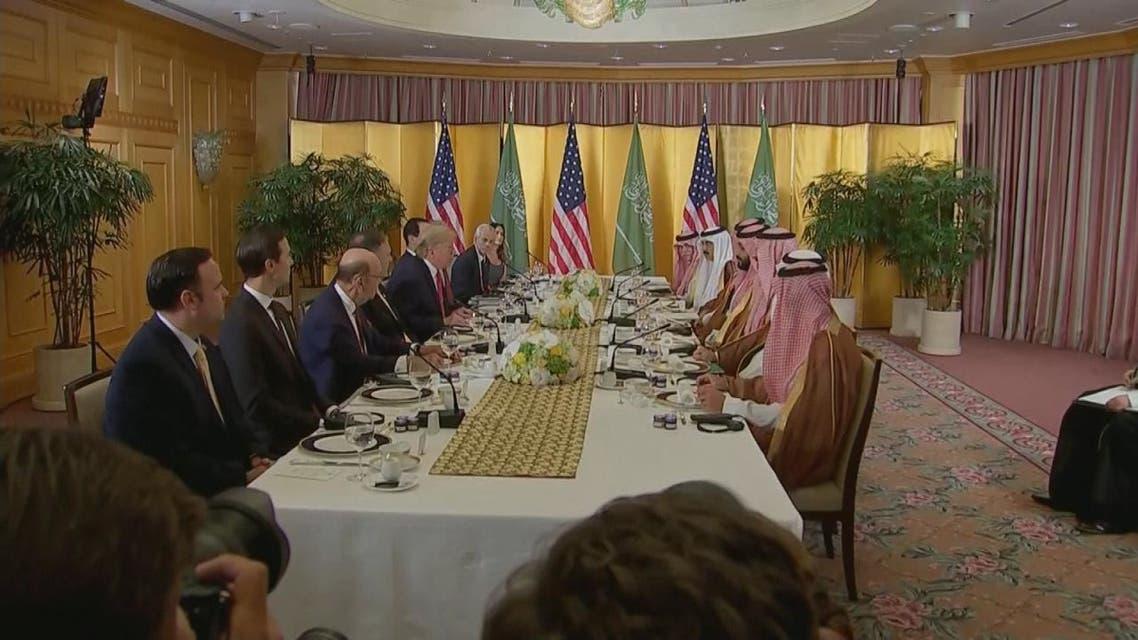 ترمب لولي العهد السعودي: أنت صديق فعلت الكثير لبلادك