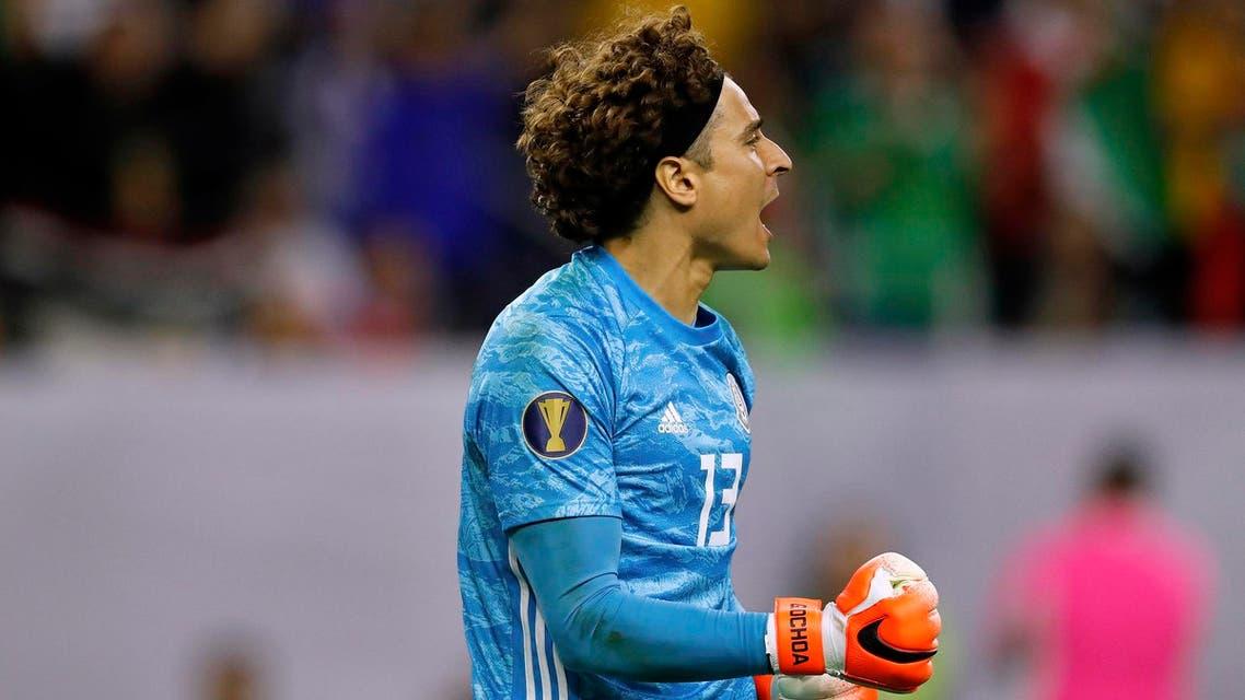 Mexico goalkeeper Guillermo Ochoa - AFP