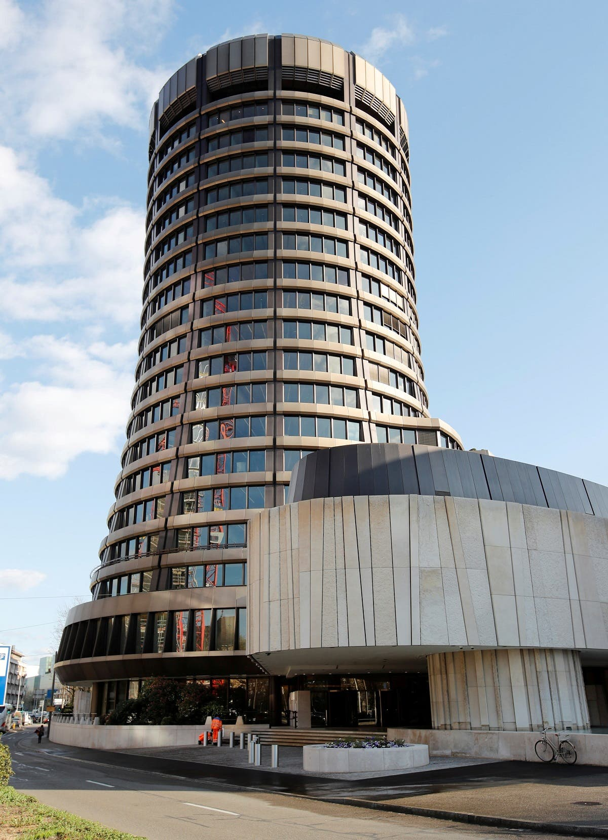 The headquarters of the Bank for International Settlements (BIS) in Basel, Switzerland. (Reuters)