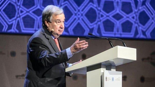 غوتيريس: الأمم المتحدة ترحب بإعلان تشكيلة حكومة لبنان