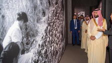 Saudi Crown Prince visits Hiroshima museum, meets survivor