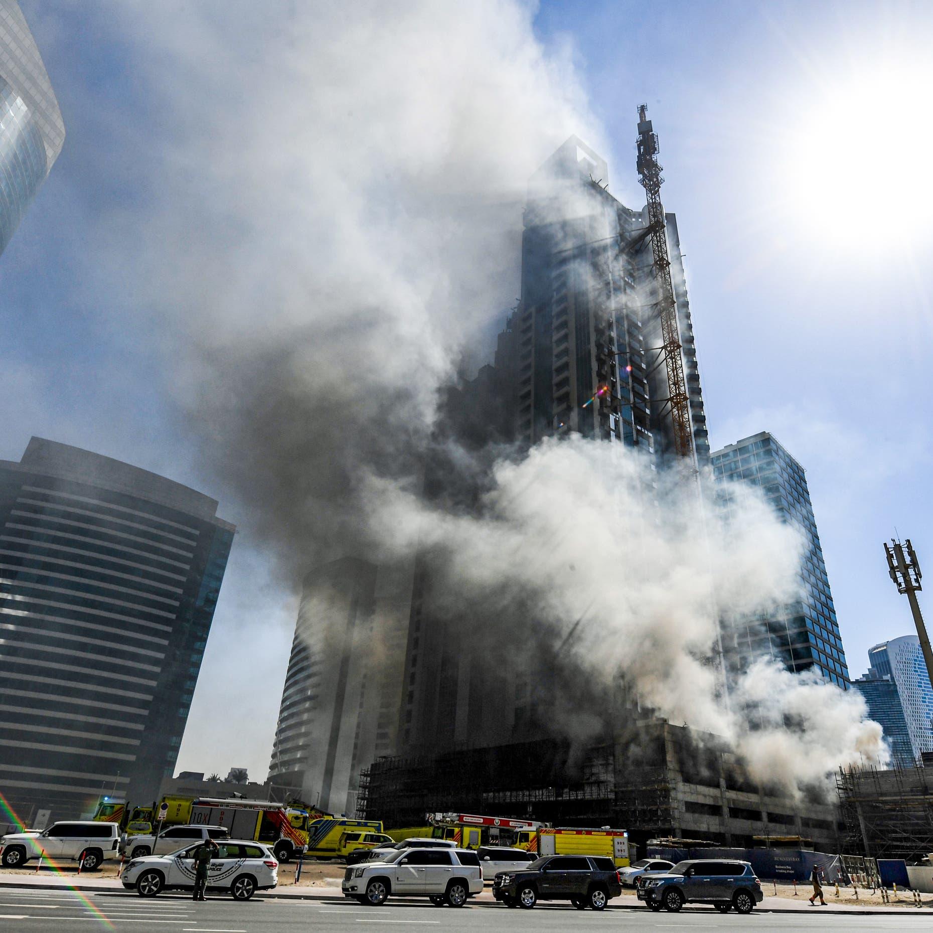 وفاة رجل إطفاء إماراتي سقط من الطابق الرابع