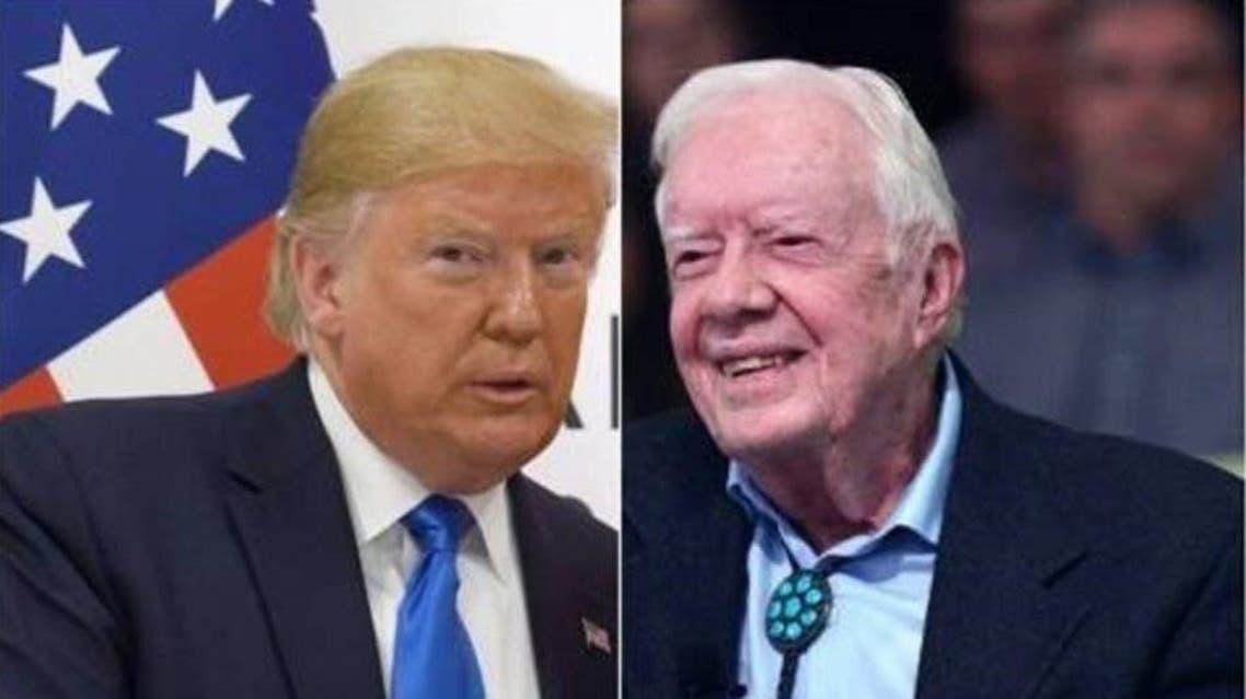 Trump and carter