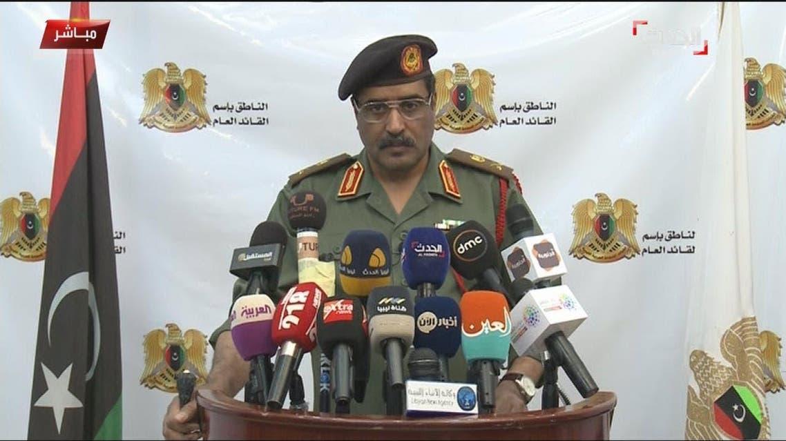 Maj. Gen. Ahmed al-Mismari