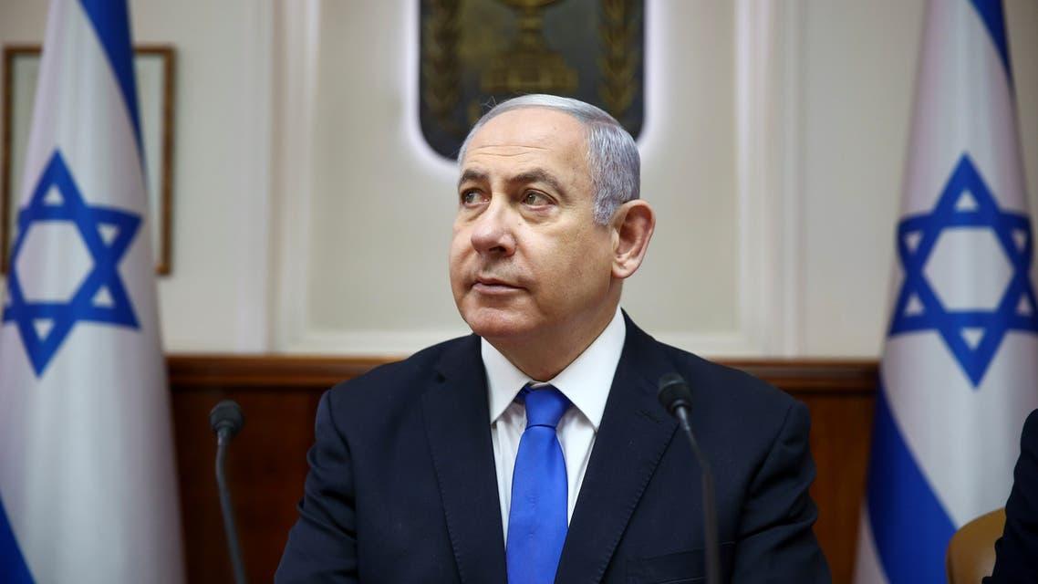 Israeli Prime Minister Benjamin Netanyahu arrives to attend the weekly cabinet meeting in Jerusalem, June 30, 2019. Oded Balilty/Pool via REUTERS