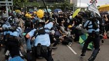 Hong Kong on edge as protests erupt ahead of handover rally