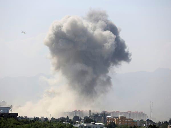معركة بالأسلحة بقلب كابول وإصابة 65 بانفجار تبنته طالبان