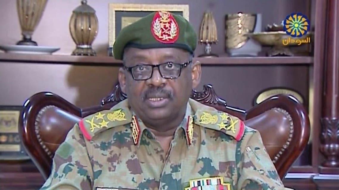 رئيس لجنة الأمن والدفاع بالمجلس العسكري الانتقالي الفريق أول جمال الدين عمر
