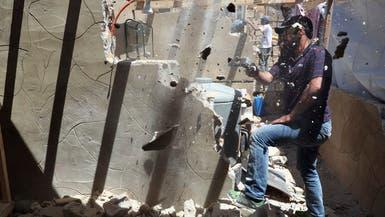 لبنان.. الجيش يتأكد من هدم الجدران الخرسانية في المخيمات