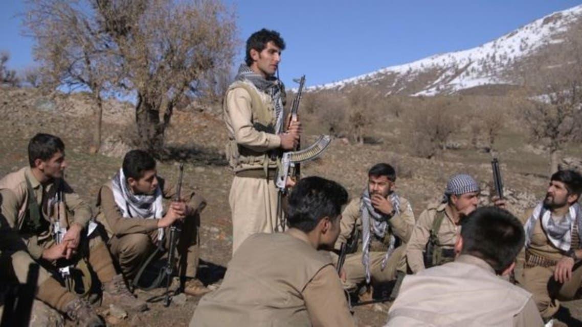 مقاتلون من الحزب الديمقراطي الكردستاني الإيراني ( أرشيفية)
