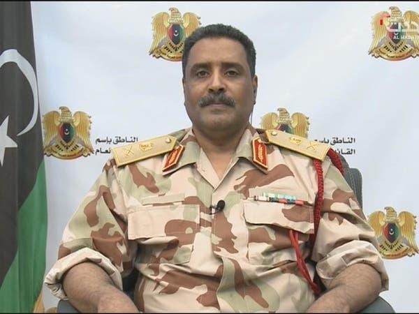 غارة جوية للجيش الليبي على معسكر النقلية جنوب طرابلس