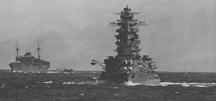جانب من السفن الحربية اليابانية بالحرب العالمية الثانية
