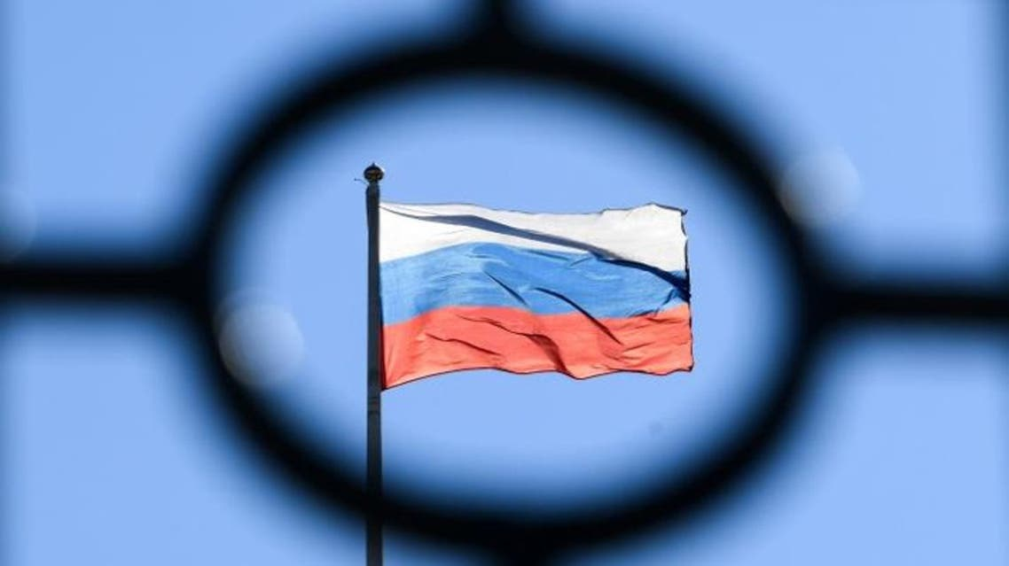 Russia flag - Russian flag - AFP