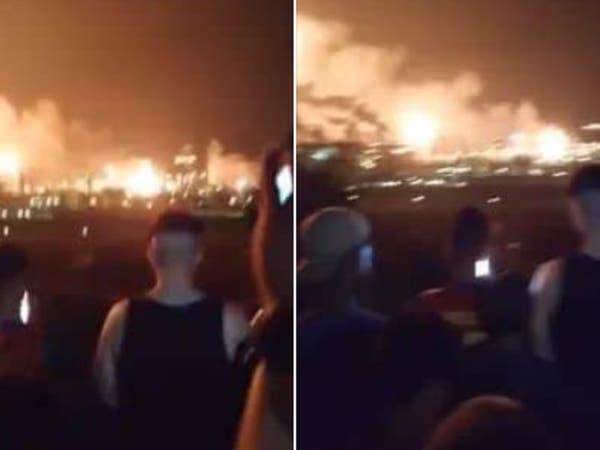 الجزائر.. انفجار بأكبر مصنع لتمييع الغاز بوهران