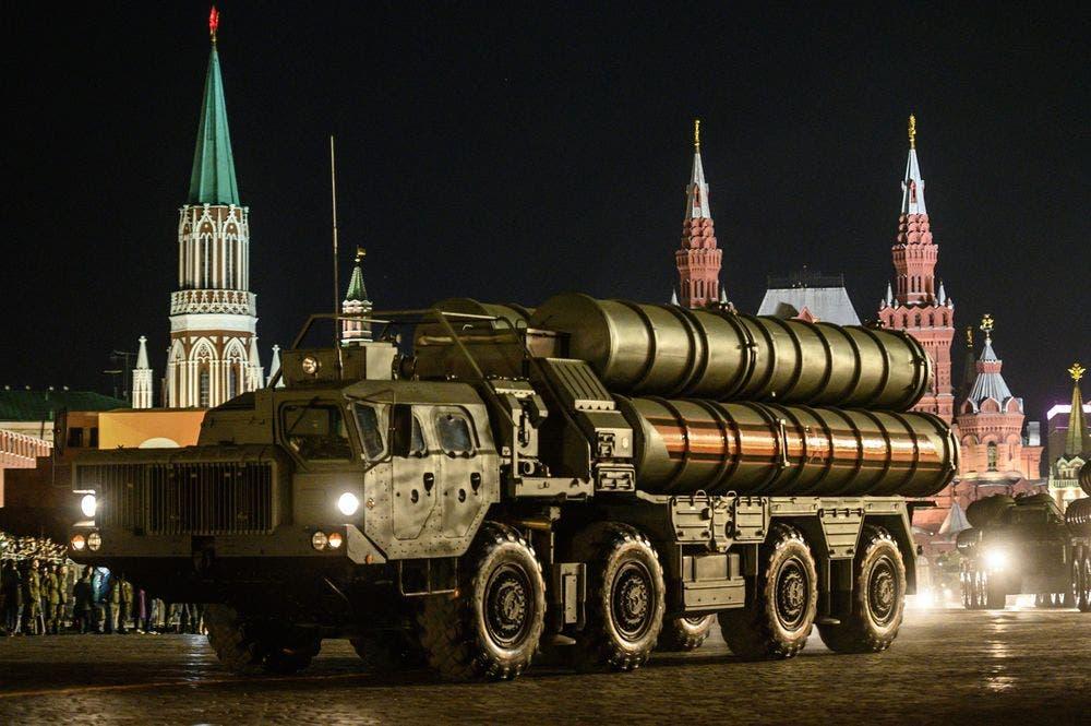 منظومة صواريخ اس 400 روسية الصنع