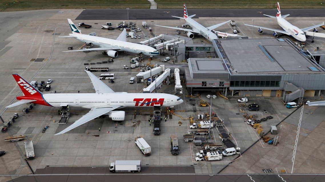 مطار هيثرو في لندن(رويترز)