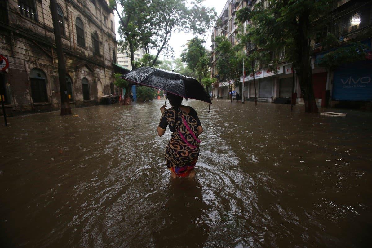 India, Mumbai monsoon. (AP)