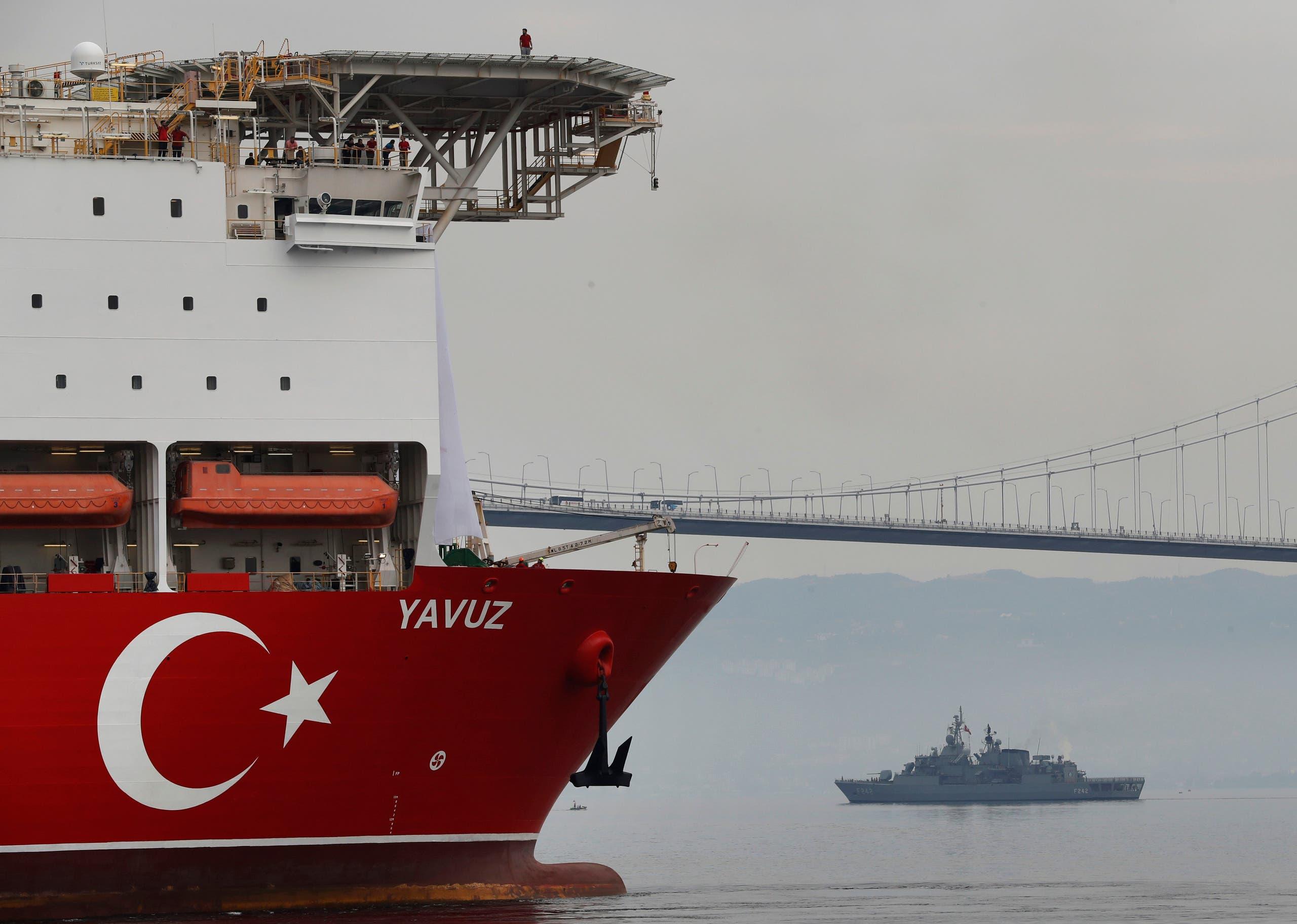سفينة التنقيب التركية عن الغاز