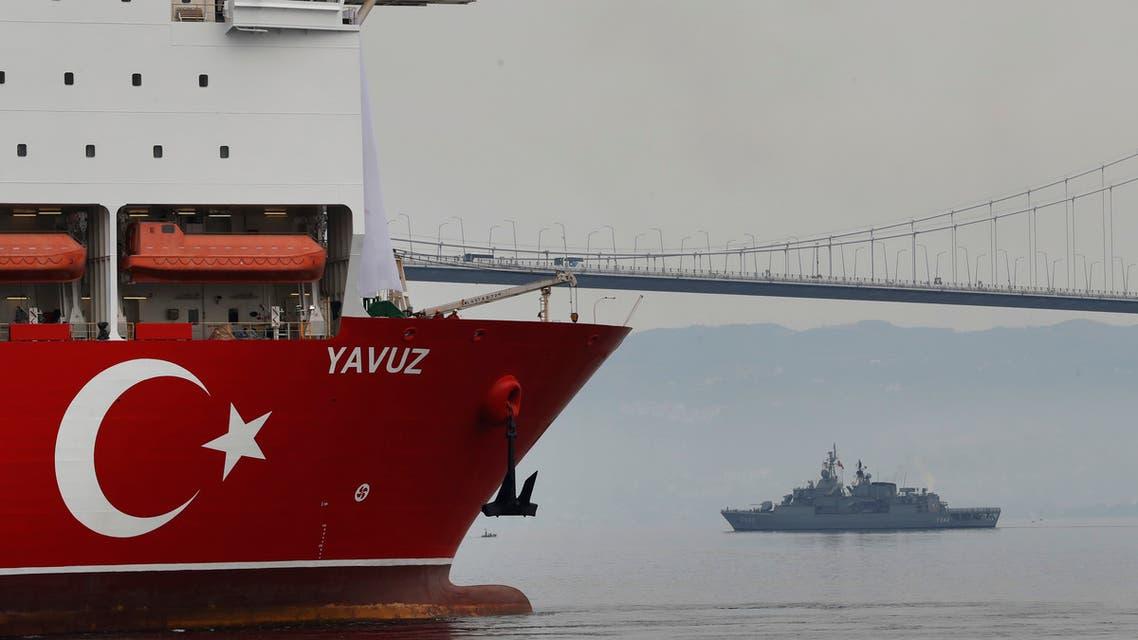 تركيا سفينة التنقيب عن الغاز