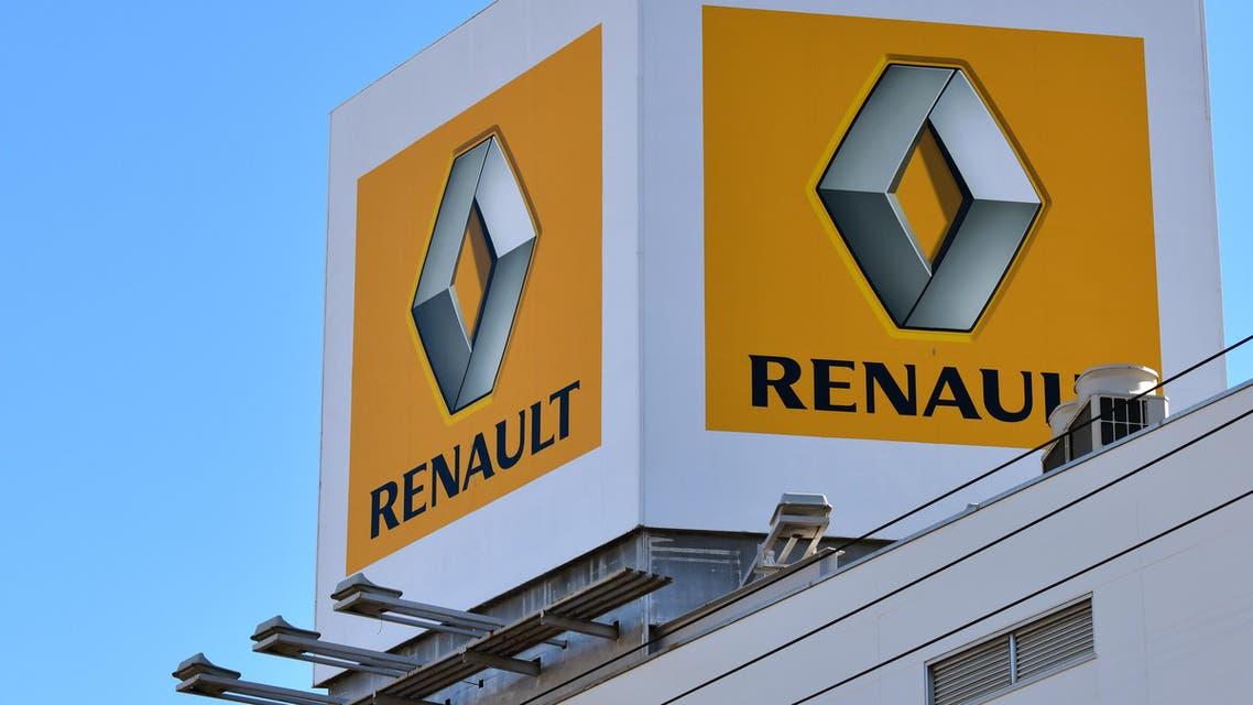 Renault logo (AFP)