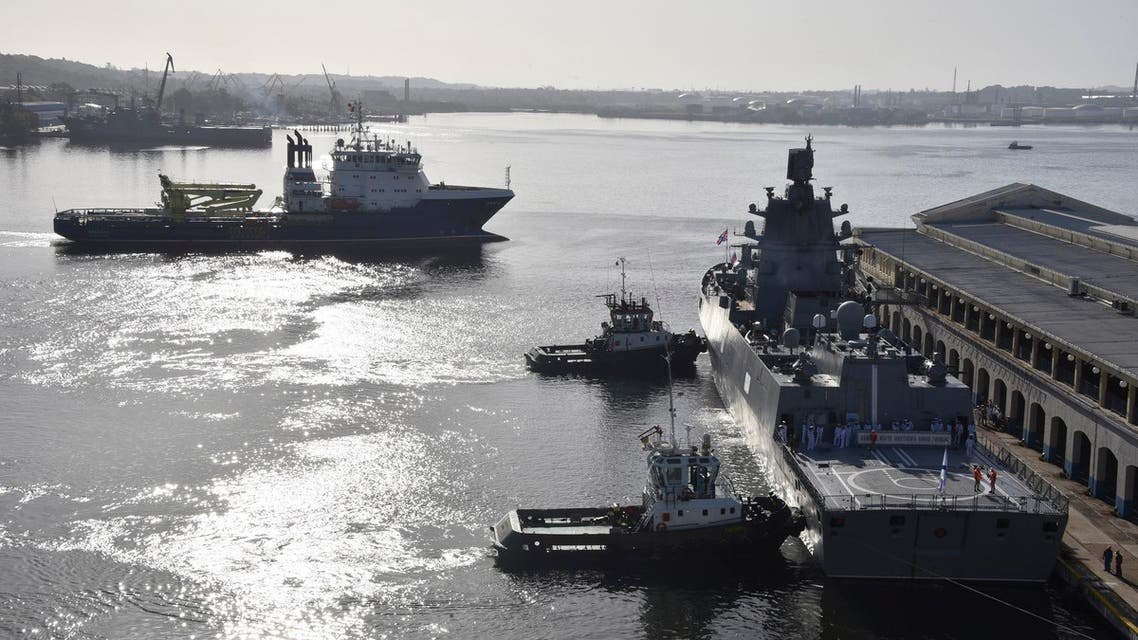 """""""It's a huge loss for the navy,"""" Putin said."""