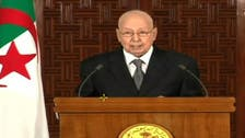 Algerian interim president says elections only democratic solution