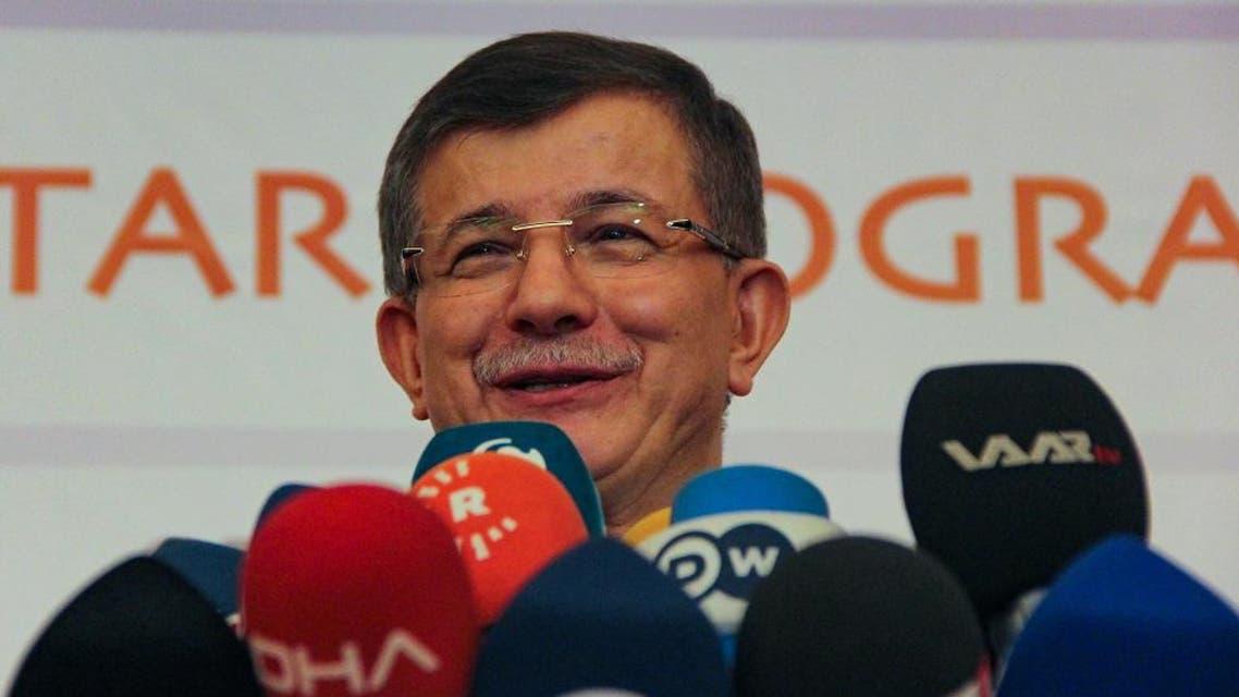 former Turkish prime minister Ahmet Davutoglu afp